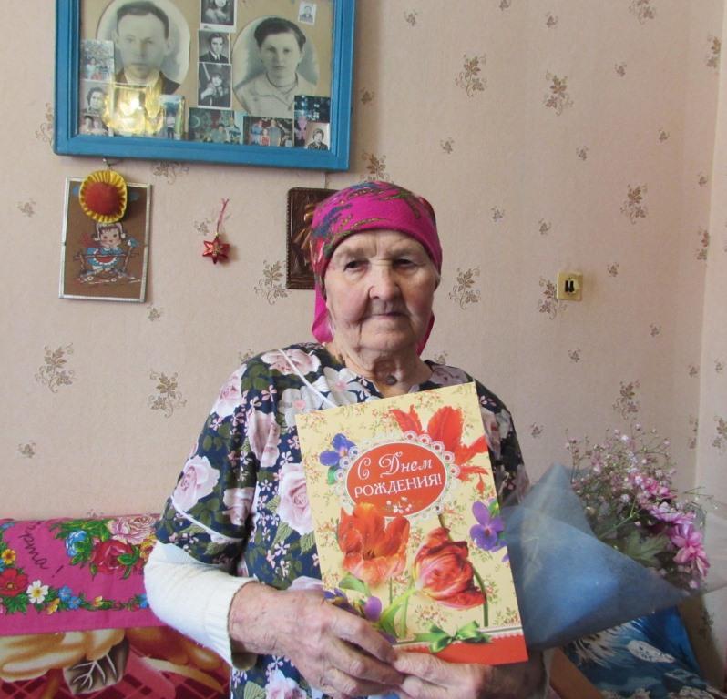 1 марта 90 лет исполнилось одной из старейших жительниц с. Екатеринославка